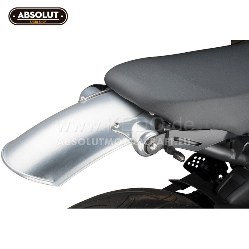 63001 Guardabarros Trasero Aluminio Yamaha Xsr700 Kedo Roadster Retro Vintage Super7 03